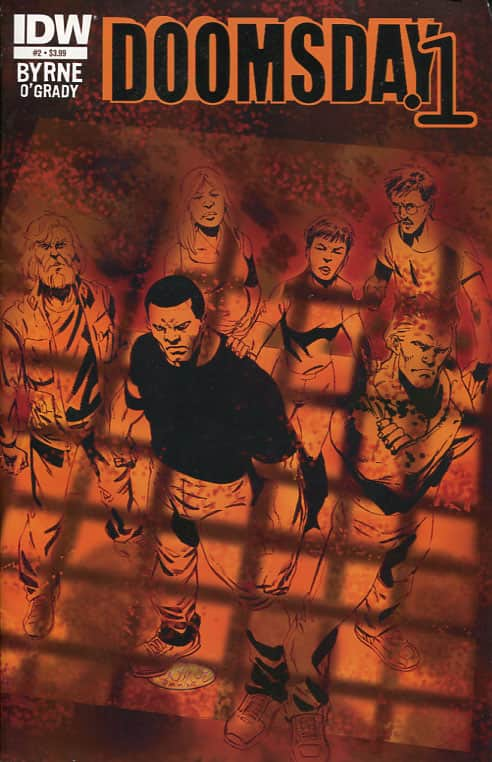 Nor Iron Bars A Cage - IDW cover