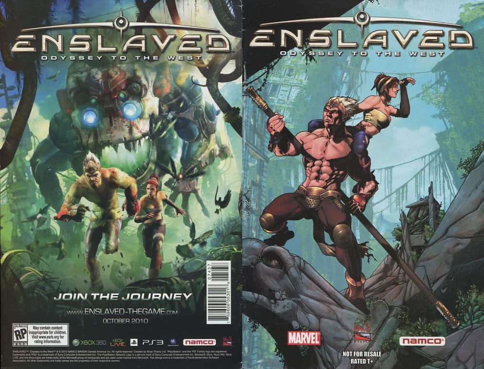 Enslaved: Odyssey to the West - Marvel cover