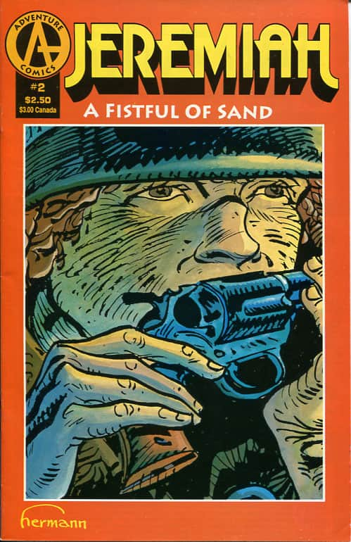 Fistful of Sand  A no.2 - Hermann Huppen cover