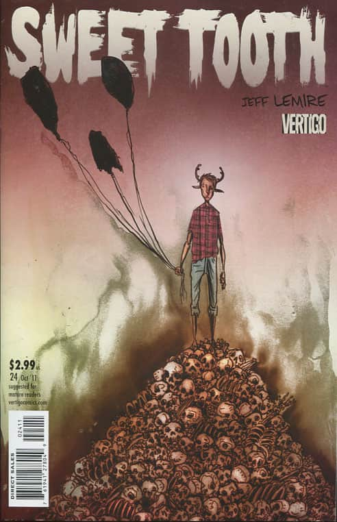 Endangered Species  Part 5 - Jeff Lemire cover