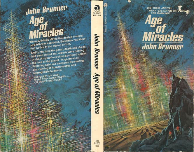 The Age of Miracles/Day of the Star Cities  - John Brunner cover