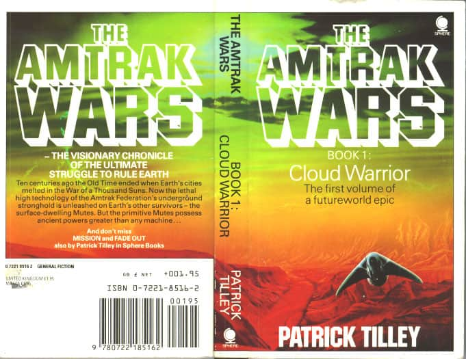 Cloud Warrior - Patrick Tilley cover