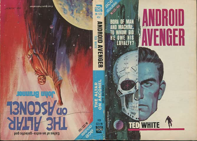Android Avenger - Ted White cover