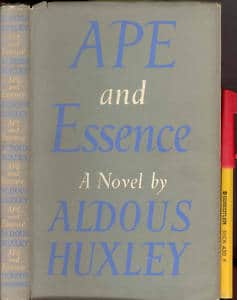 Ape and Essence - Aldous Huxley cover