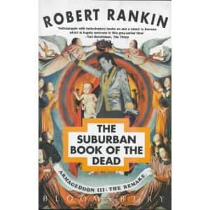 The Suburban Book of the Dead  - Robert Rankin cover