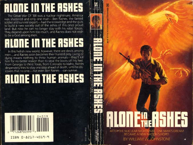 Alone in the Ashes - William W. Johnstone cover