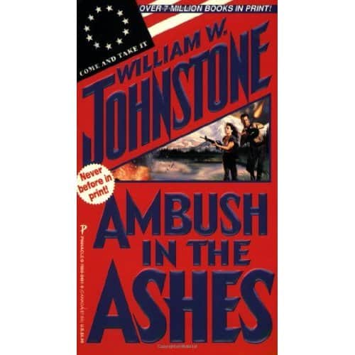 Ambush in the Ashes - William W. Johnstone cover