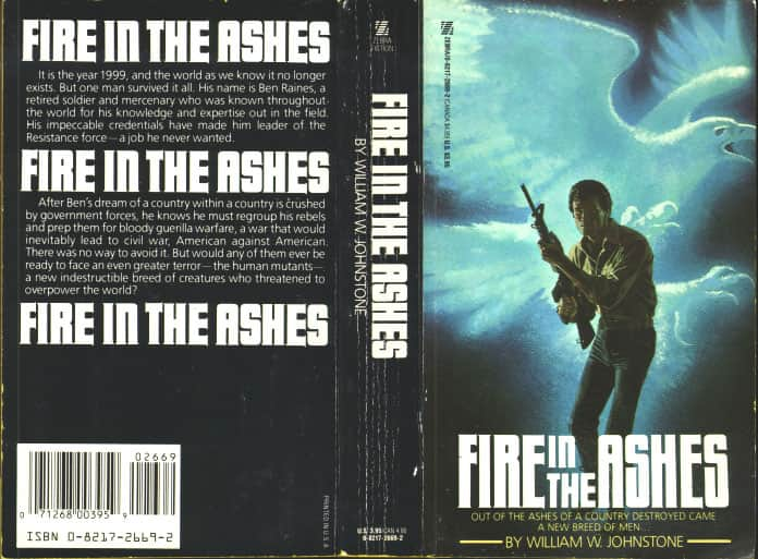 Fire in the Ashes - William W. Johnstone cover