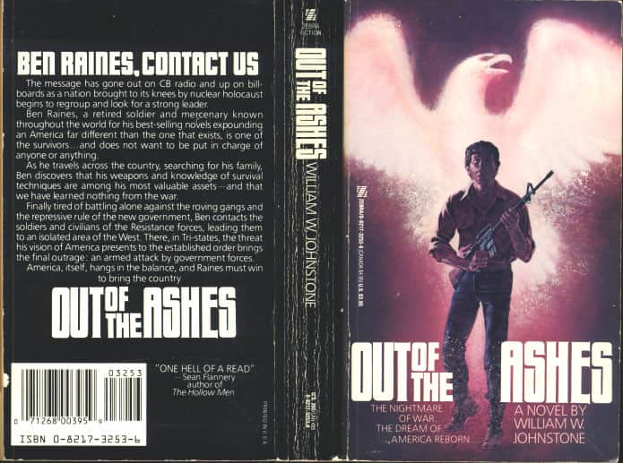 Out of the Ashes - William W. Johnstone cover
