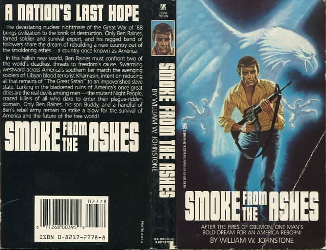Smoke from the Ashes - William W. Johnstone cover