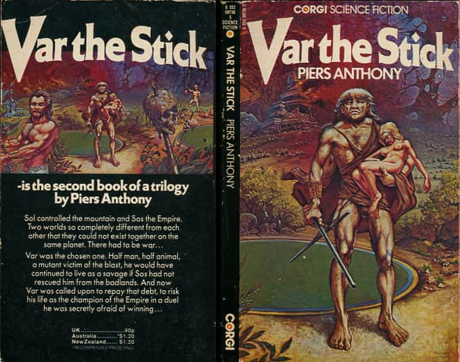 Var the Stick - Piers Anthony cover