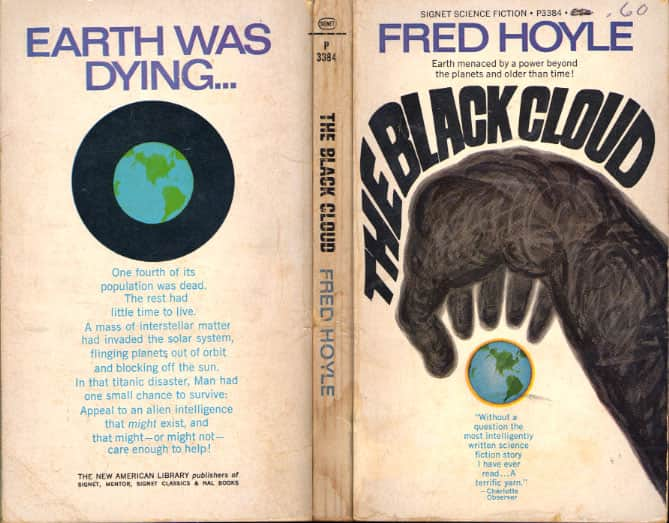 The Black Cloud  - Fred Hoyle cover