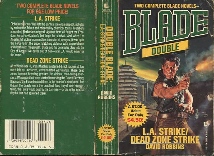 Dead Zone Strike - David Robbins cover