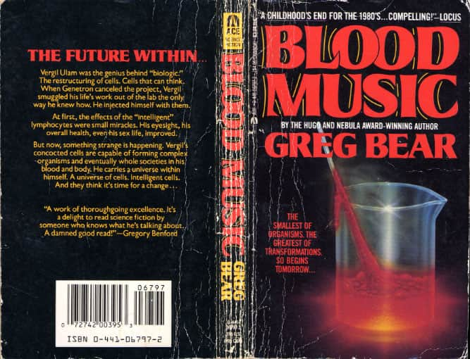 Blood Music - Greg Bear cover