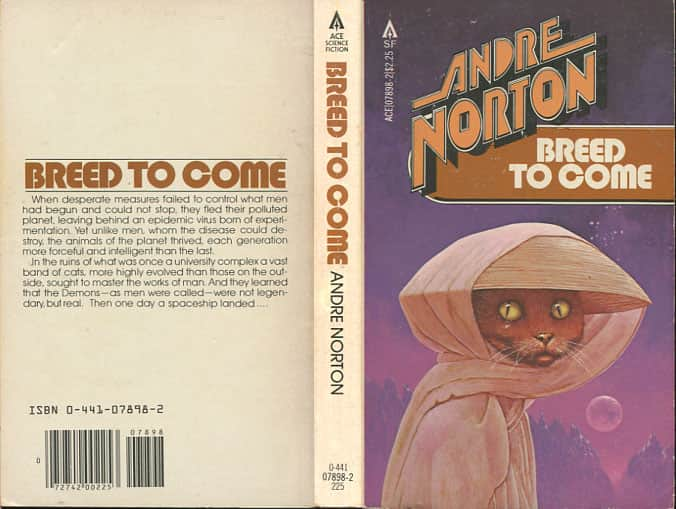 Breed to Come - Andre Norton cover