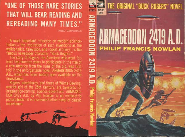 Armageddon 2419 A.D. - Philip Francis Nowlan cover
