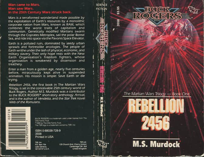 Rebellion 2456 - M S Murdock cover