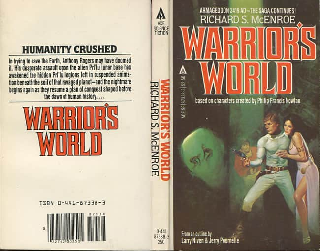 Warrior's World - Richard S McEnroe cover