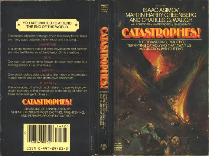 Catastrophes! - Anthology cover