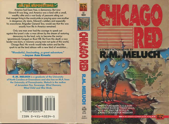 Chicago Red - R M Meluch cover