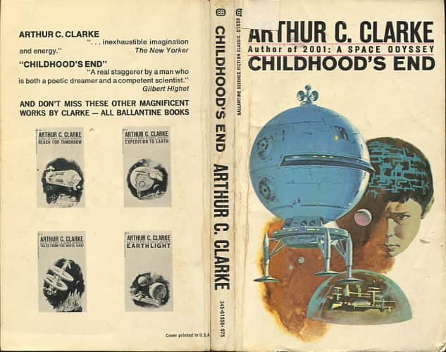 themes of selfishness in arthur clarkes novel childhoods end Arthur c clarke's childhood's end things about arthur c clarke books is the and touches on a few of the themes from the middle of childhood's end.