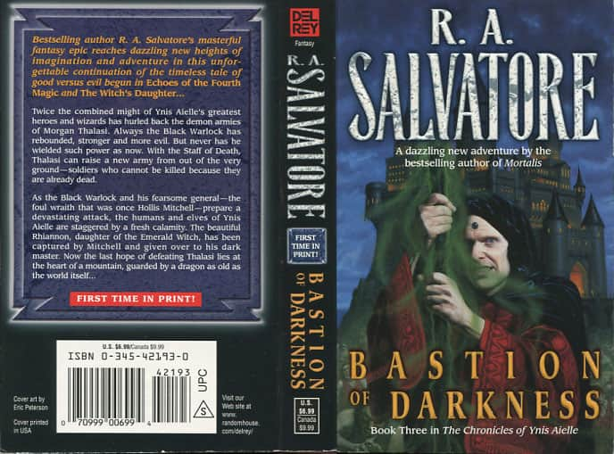 Bastion of Darkness - R. A. Salvatore cover
