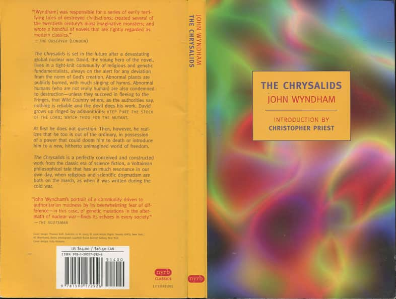 john wyndham the chrysalids essay Free college essay the chrysalids written by john wyndham, the chrysalids tells the reader about joseph and his life, which revolves around religion.