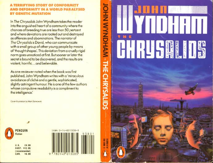 themes in chrysalids Themes examined in the chrysalids include the inevitability of change, man's inhumanity to his fellow man, ignorance, and bigotry despite being over 50 years old, the ideas expressed in this science-fiction novel are still timely today.