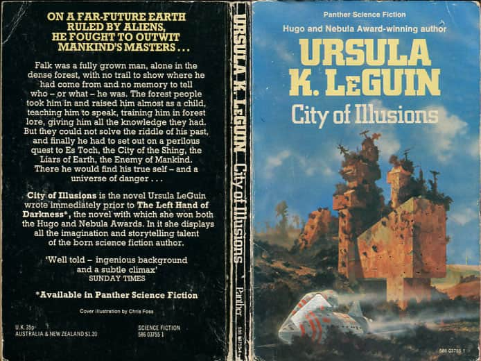 City of Illusions - Ursula K. Le Guin cover
