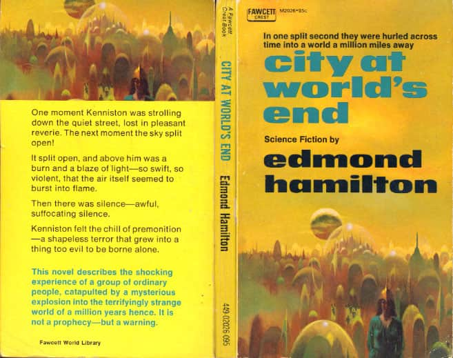 The City at World's End  - Edmond Hamilton cover