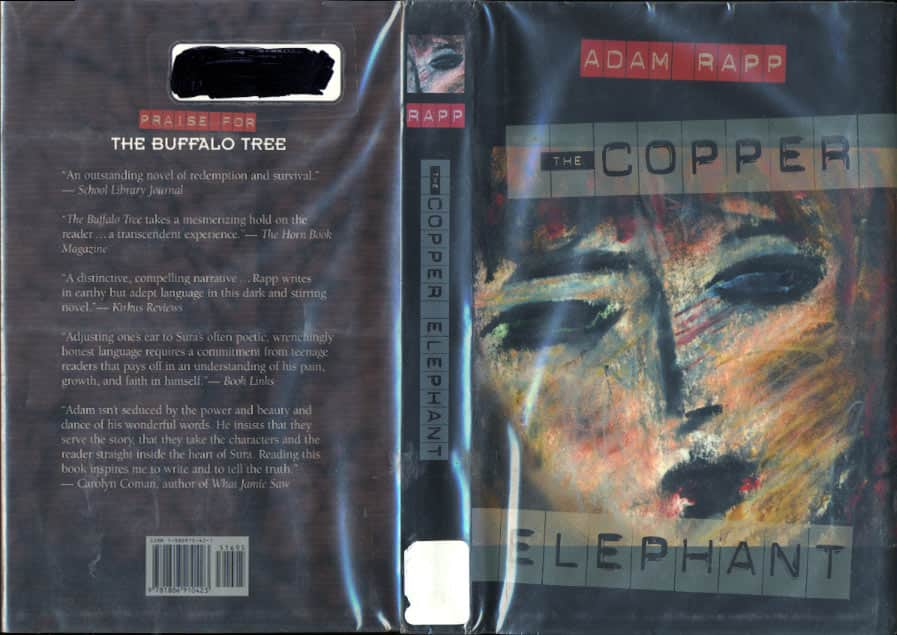 The Copper Elephant  - Adam Rapp cover