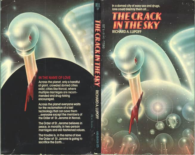 The Crack in the Sky  - Richard A Lupoff cover