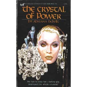 The Crystal of Power  - Adriana deBolt cover
