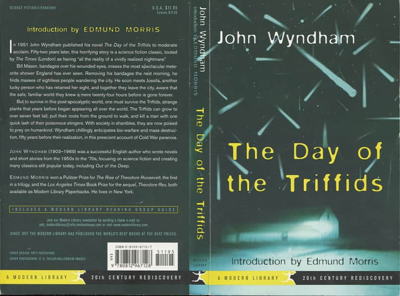 the day of the triffids study guide essay In his novel, the day of the triffids and its vision of a world struck blind and menaced by carnivorous plants, john wyndham created one of the most enduring nightmares of the atomic age nearly 60 years later, his vision might equally serve not just as a warning of the perils of genetic engineering, but.