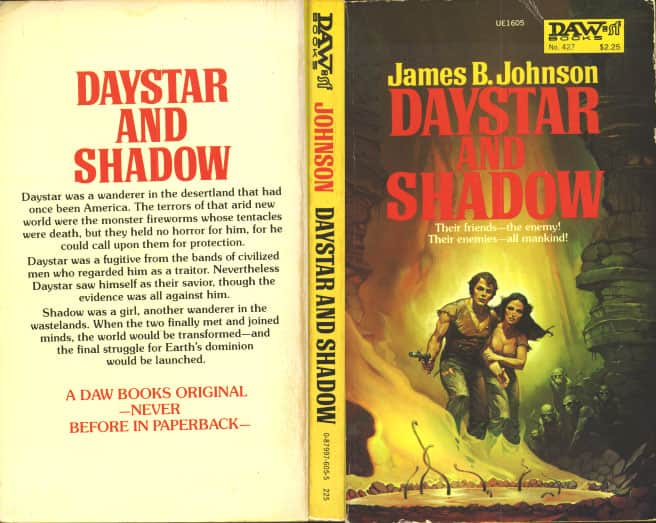 Daystar and Shadow - James B Johnson cover
