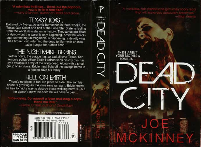 Dead City - Joe McKinney cover