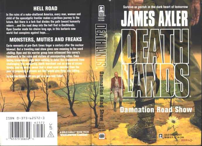 Damnation Road Show - James Axler cover