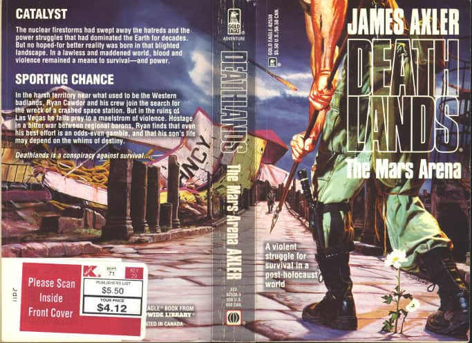 The Mars Arena  - James Axler cover