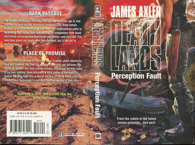 Perception Fault - James Axler cover