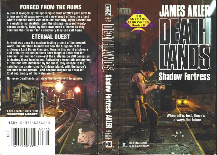 Shadow Fortress - James Axler cover