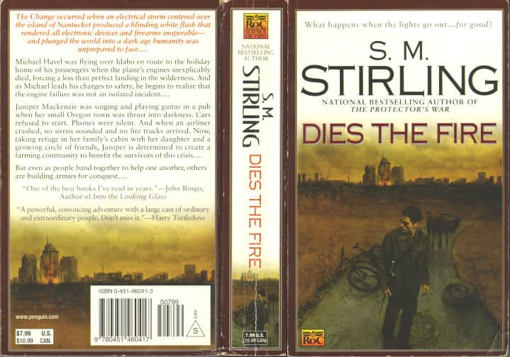 Dies the Fire - S. M. Stirling cover