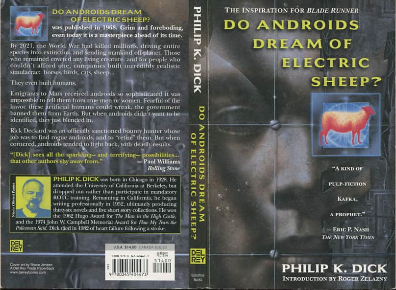 Do Androids Dream of Electric Sheep - Philip K. Dick cover