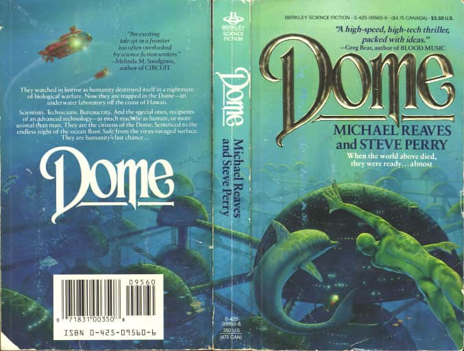 Dome - Steve Perry / Michael Reaves cover