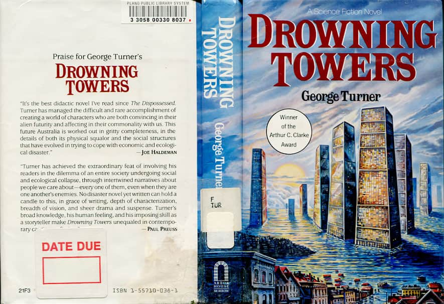 Drowning Towers/Sea and Summer - George Turner cover