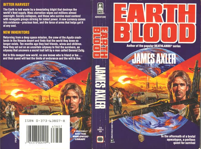 Earth Blood - James Axler / Rosel George Brown cover