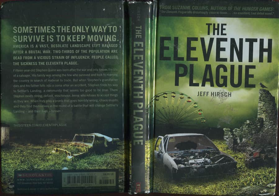 The Eleventh Plague  - Jeff Hirsch cover
