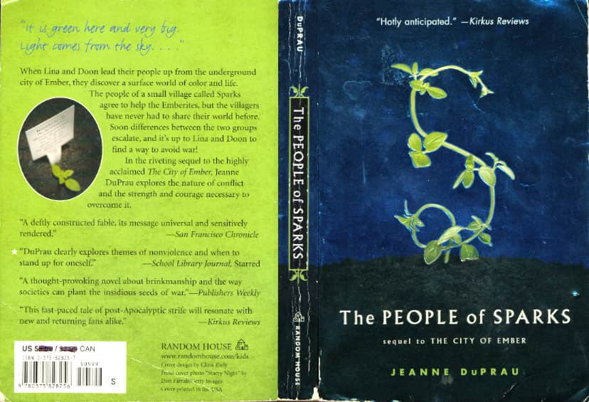 book report the people of sparks Report on anne frank's capture sparks frustration among the report examines events and people surrounding the arrest of anne author of the 1987 book.