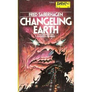 Changeling Earth/Ardneh's World - Fred Saberhagen cover
