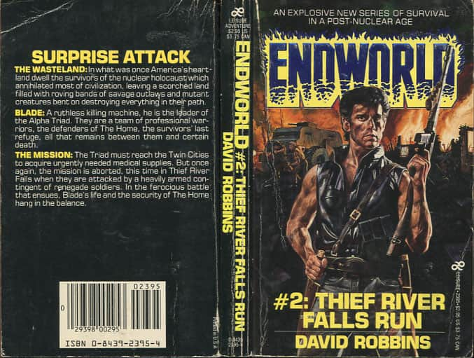Thief River Falls Run - David Robbins cover