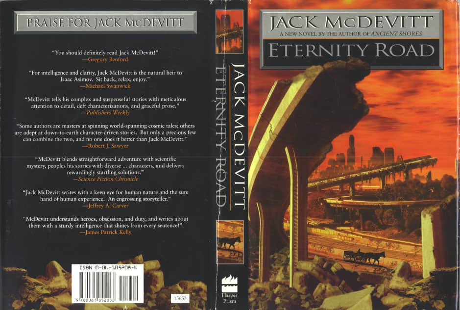 Eternity Road - Jack McDevitt cover